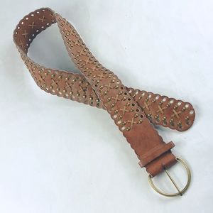 Accessories - Vegan Brown Belt